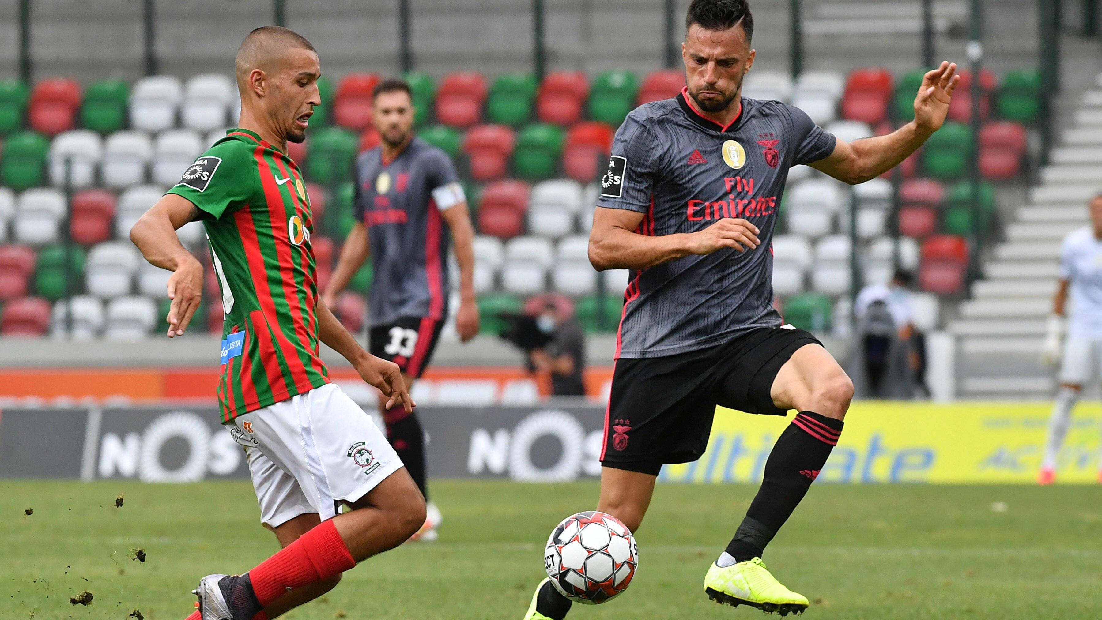 Famalicão Gegen Benfica